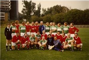 Spiel gegen die Abgeordnetenmannschaft des Deutschen Bundestages 1986
